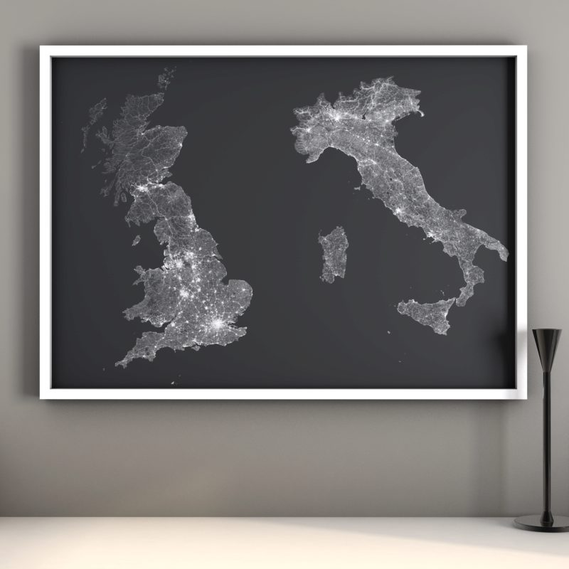 2 gb italy with candle stick 800