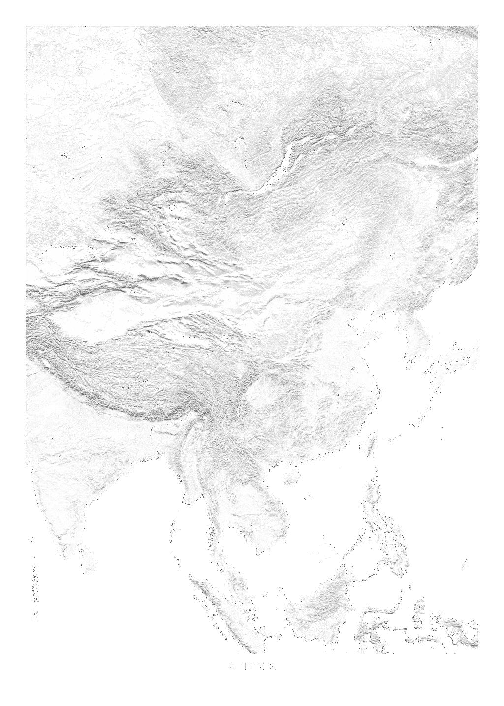China wall map