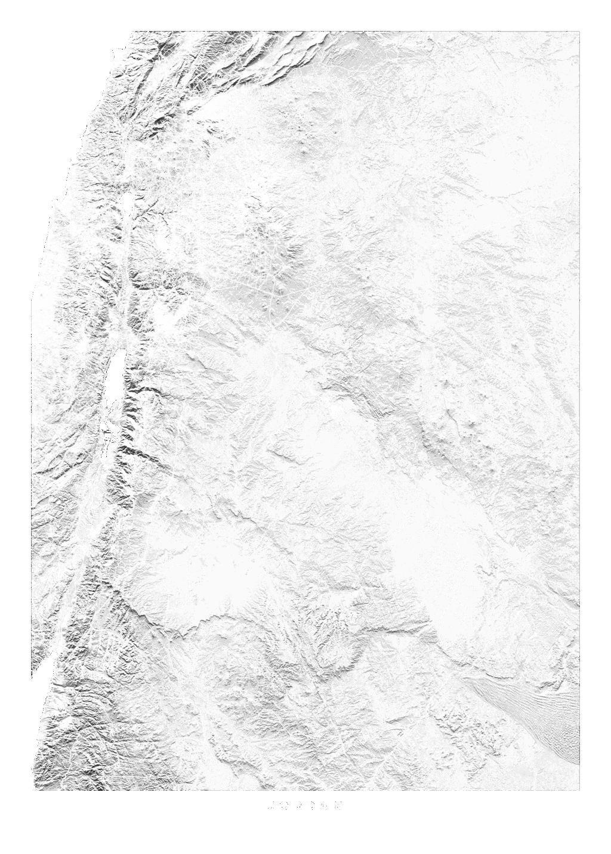 Jordan wall map
