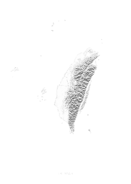 Taiwan wall map