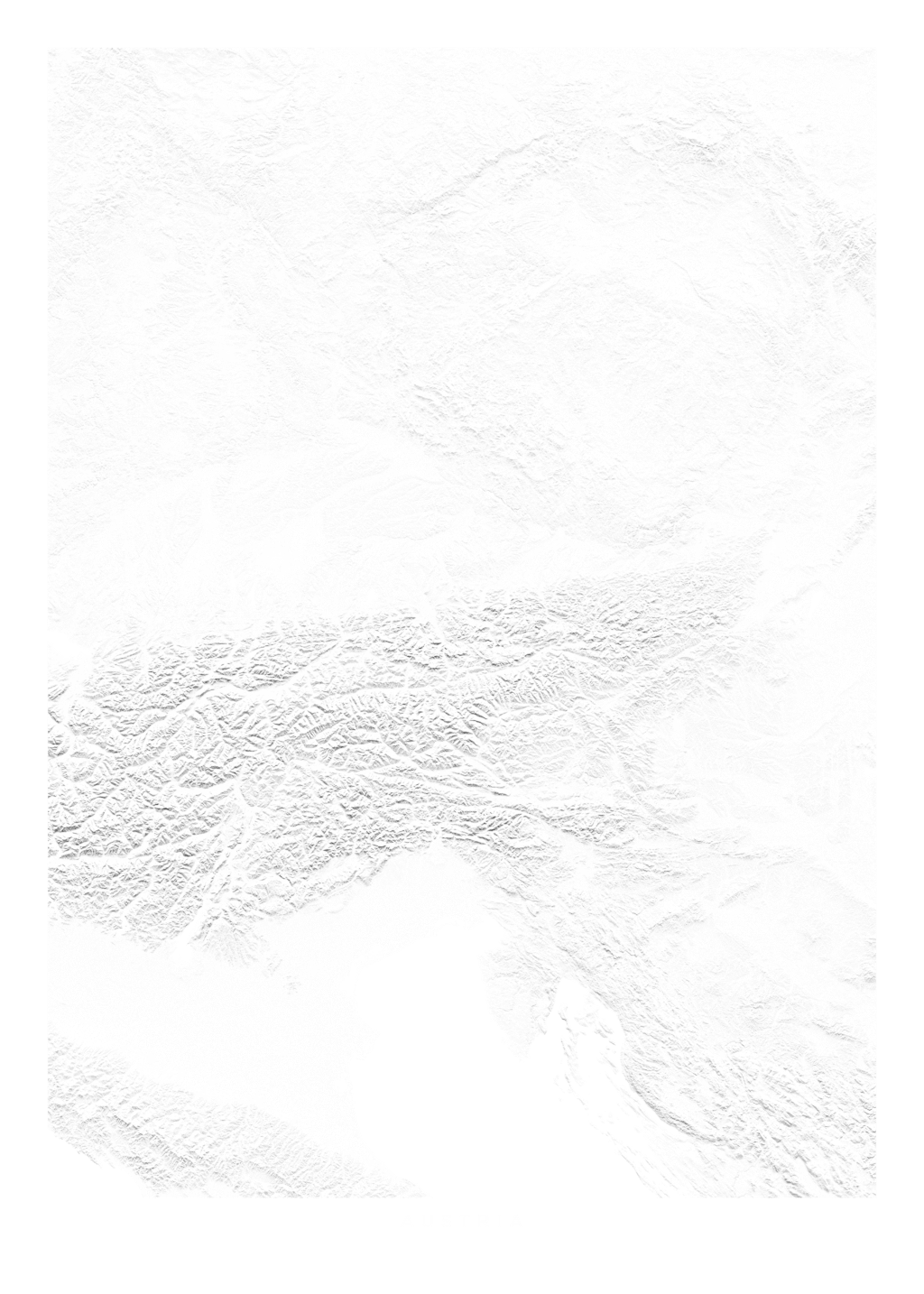 Austria wall map