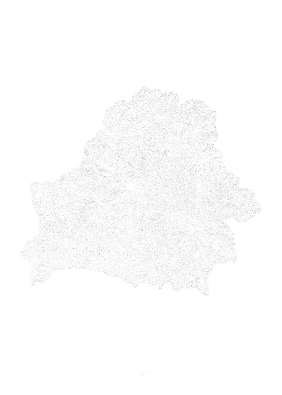 Belarus wall map