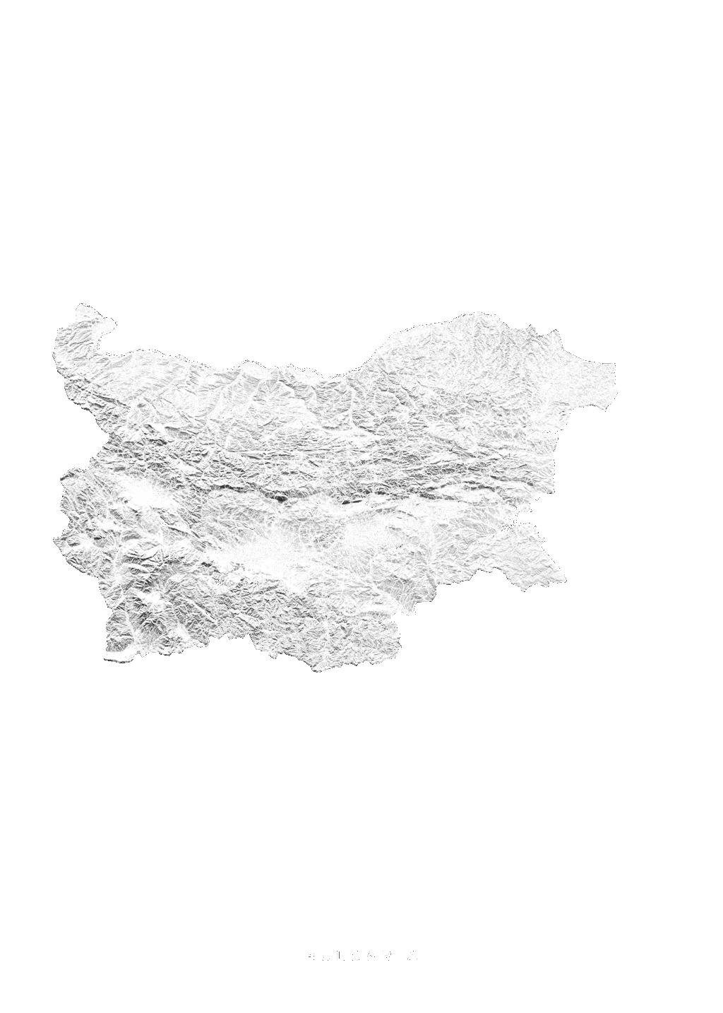 Bulgaria wall map
