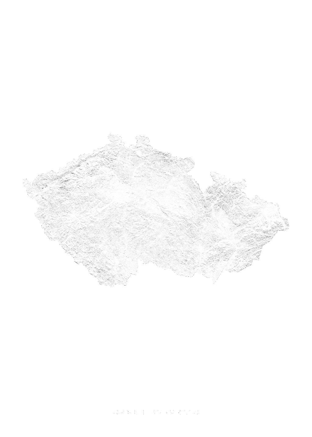 Czech Republic wall map