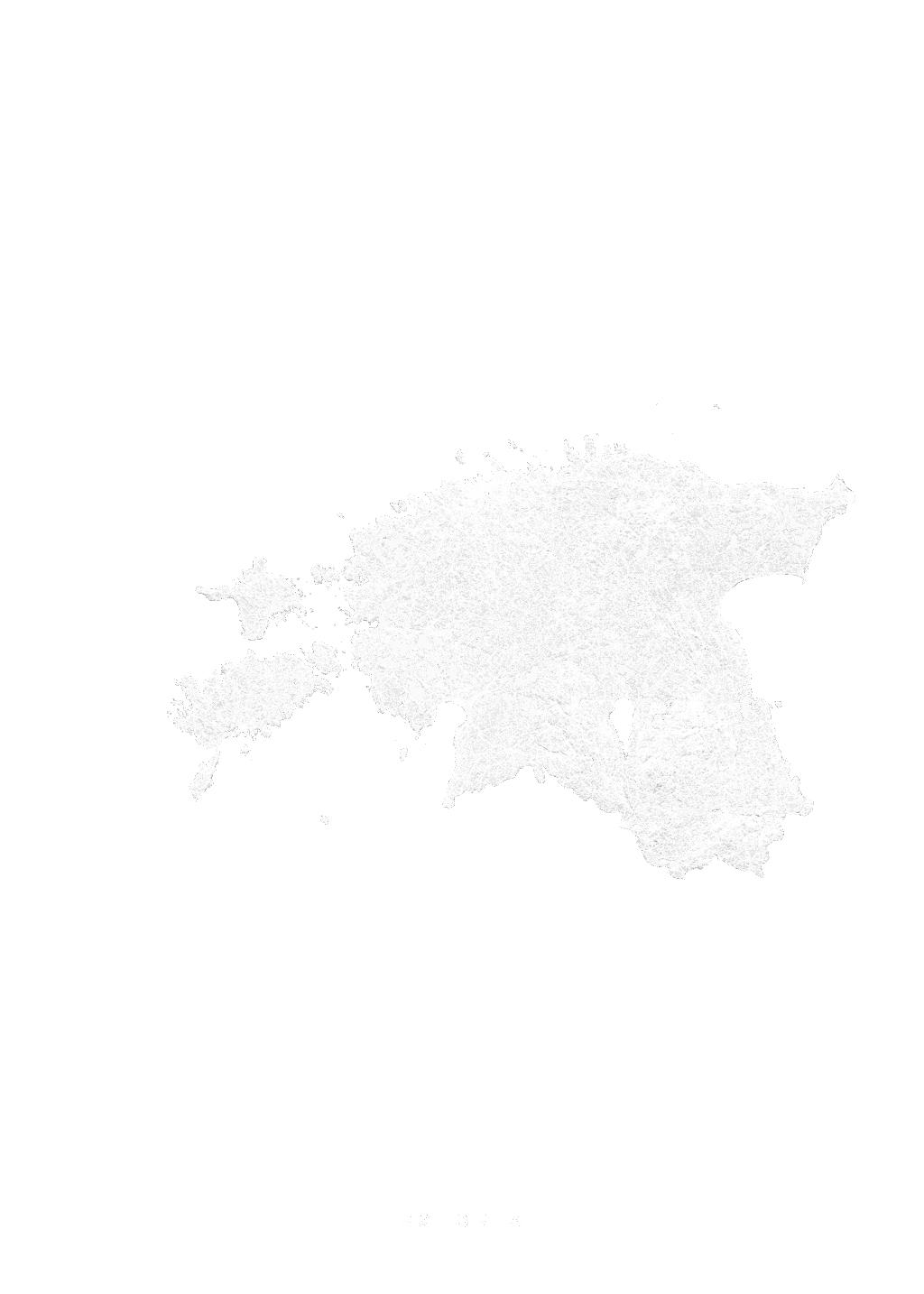 Estonia wall map