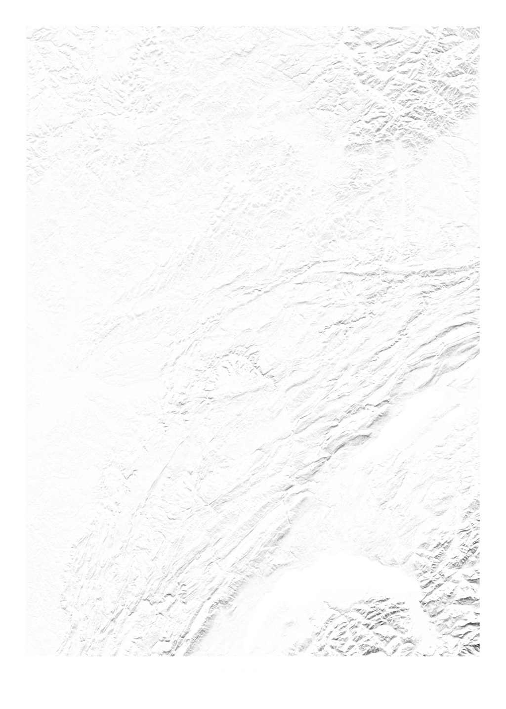 Franche Comte wall map