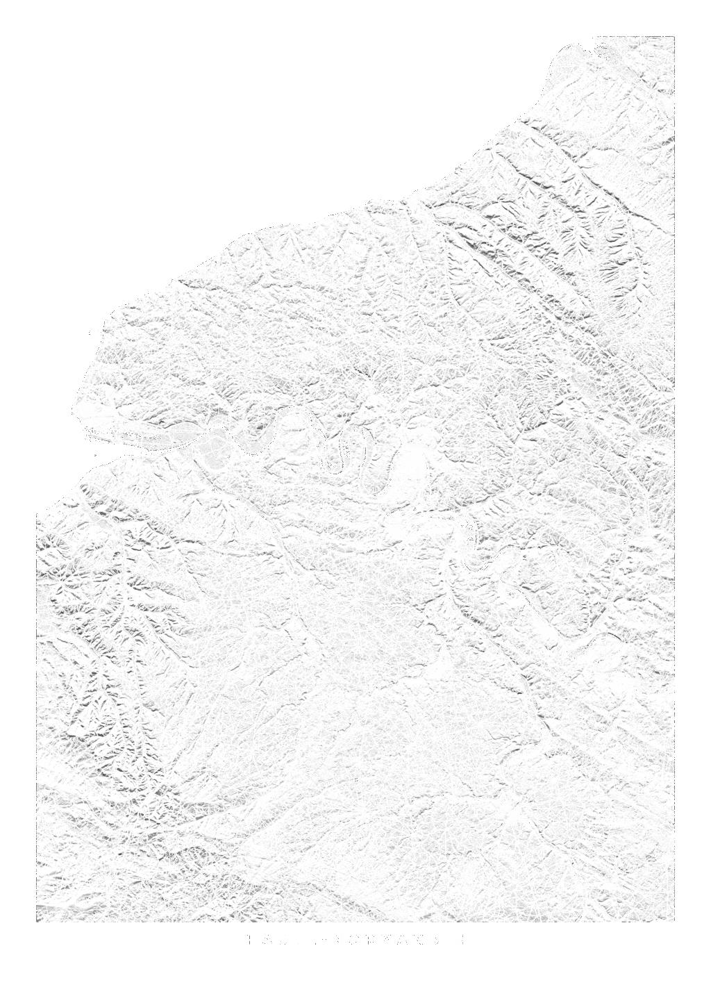 Haute Normandie wall map