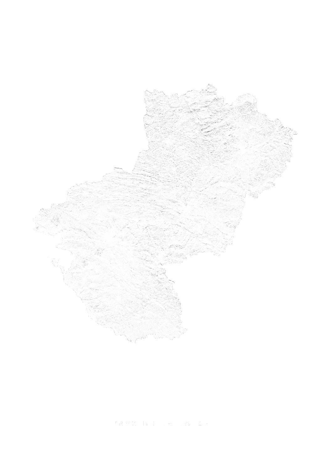 Pays De La Loire wall map