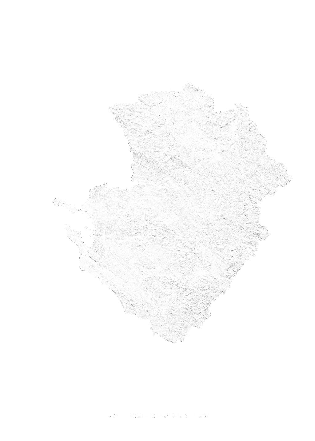 Poitou Charentes wall map