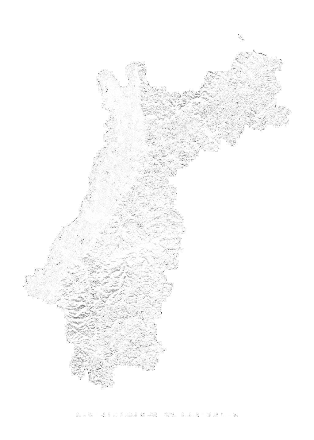 Regierungsbezirk Karlsruhe wall map