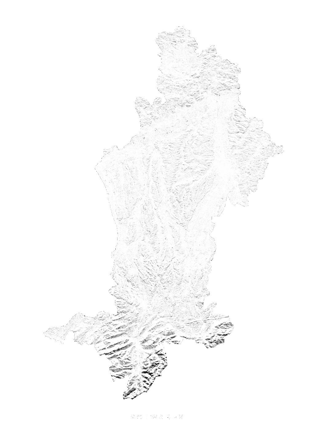 Schwaben wall map