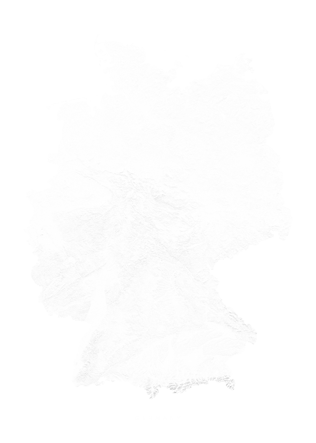 Germany wall map