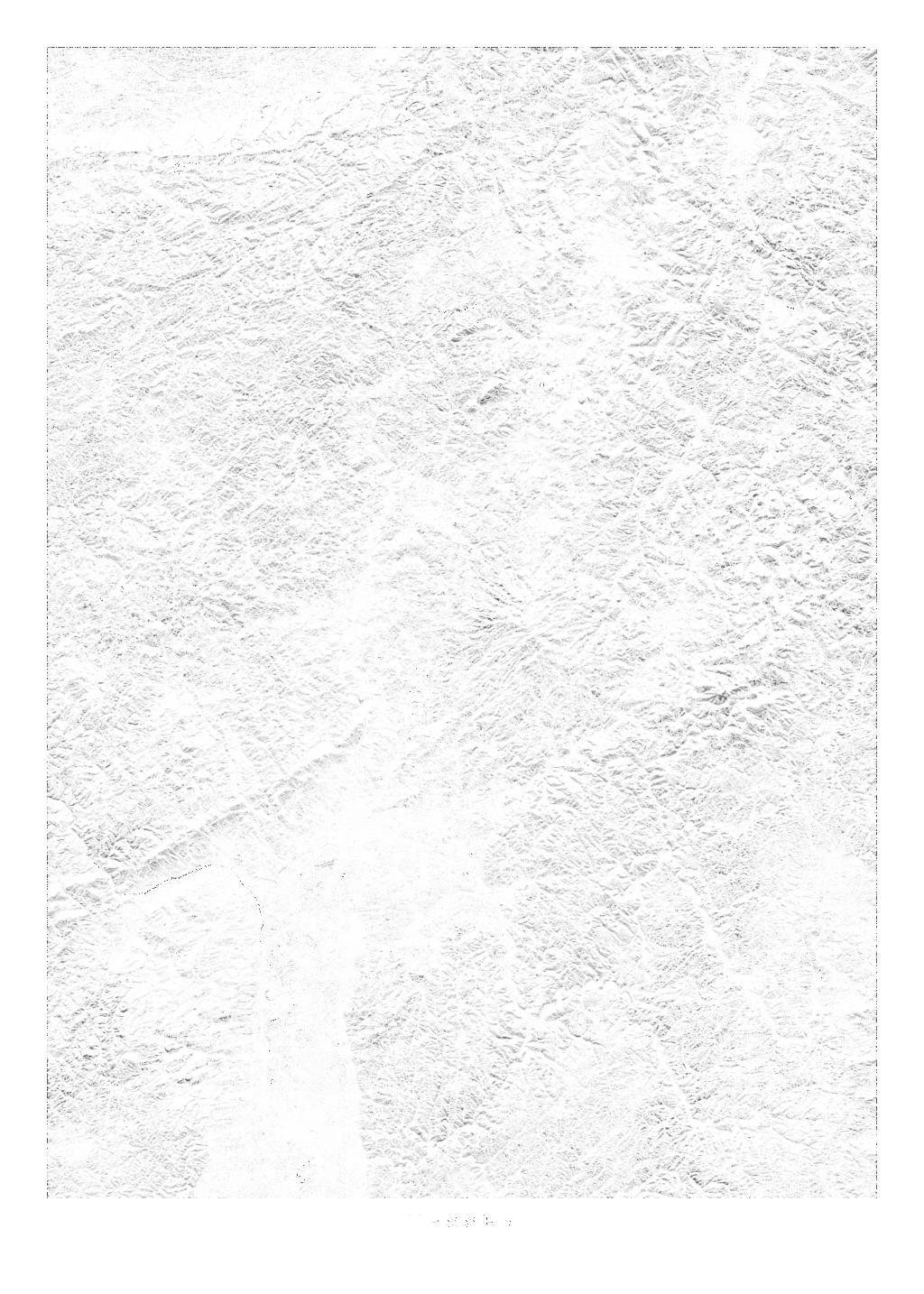 Hessen wall map