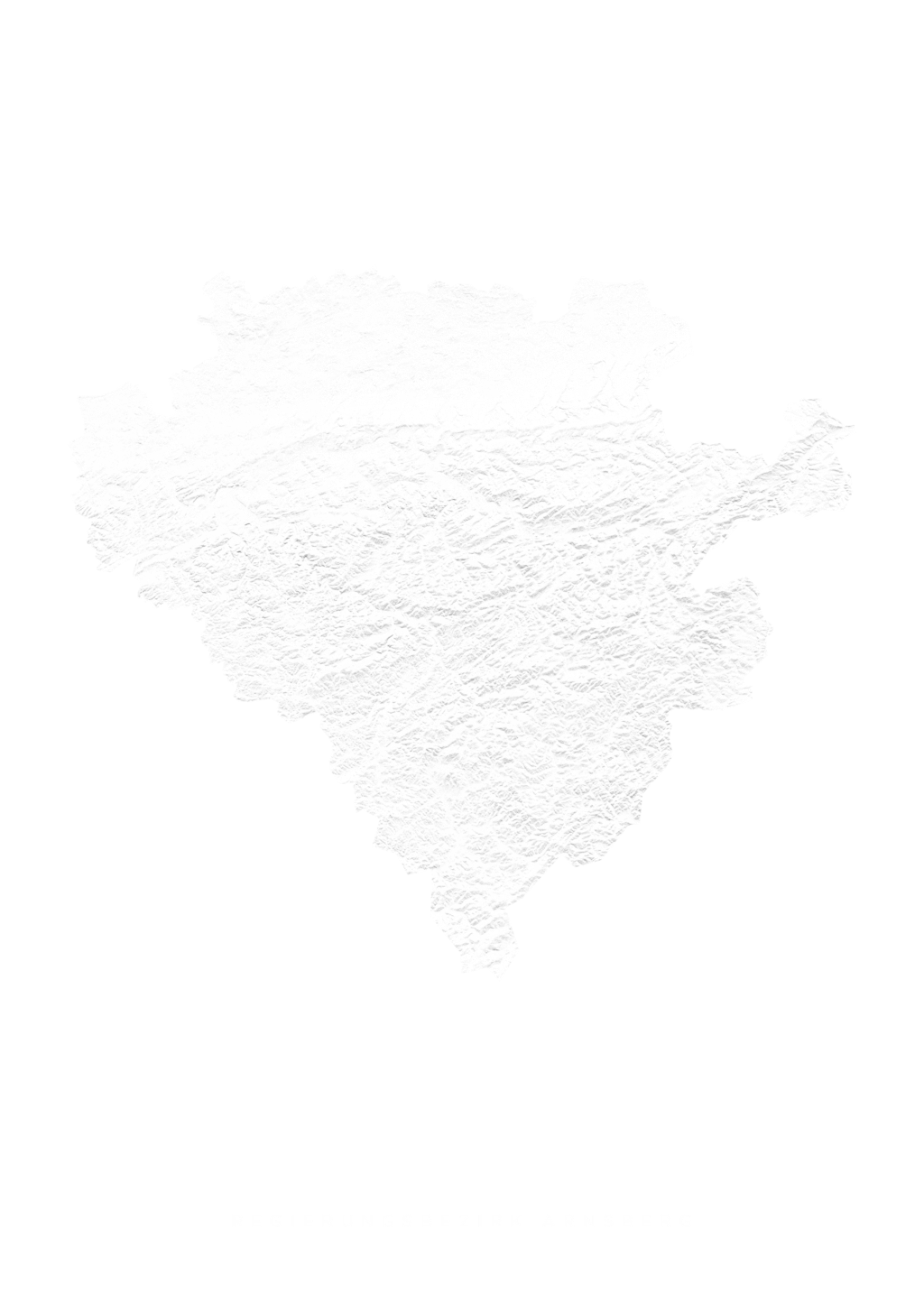 Regierungsbezirk Arnsberg wall map