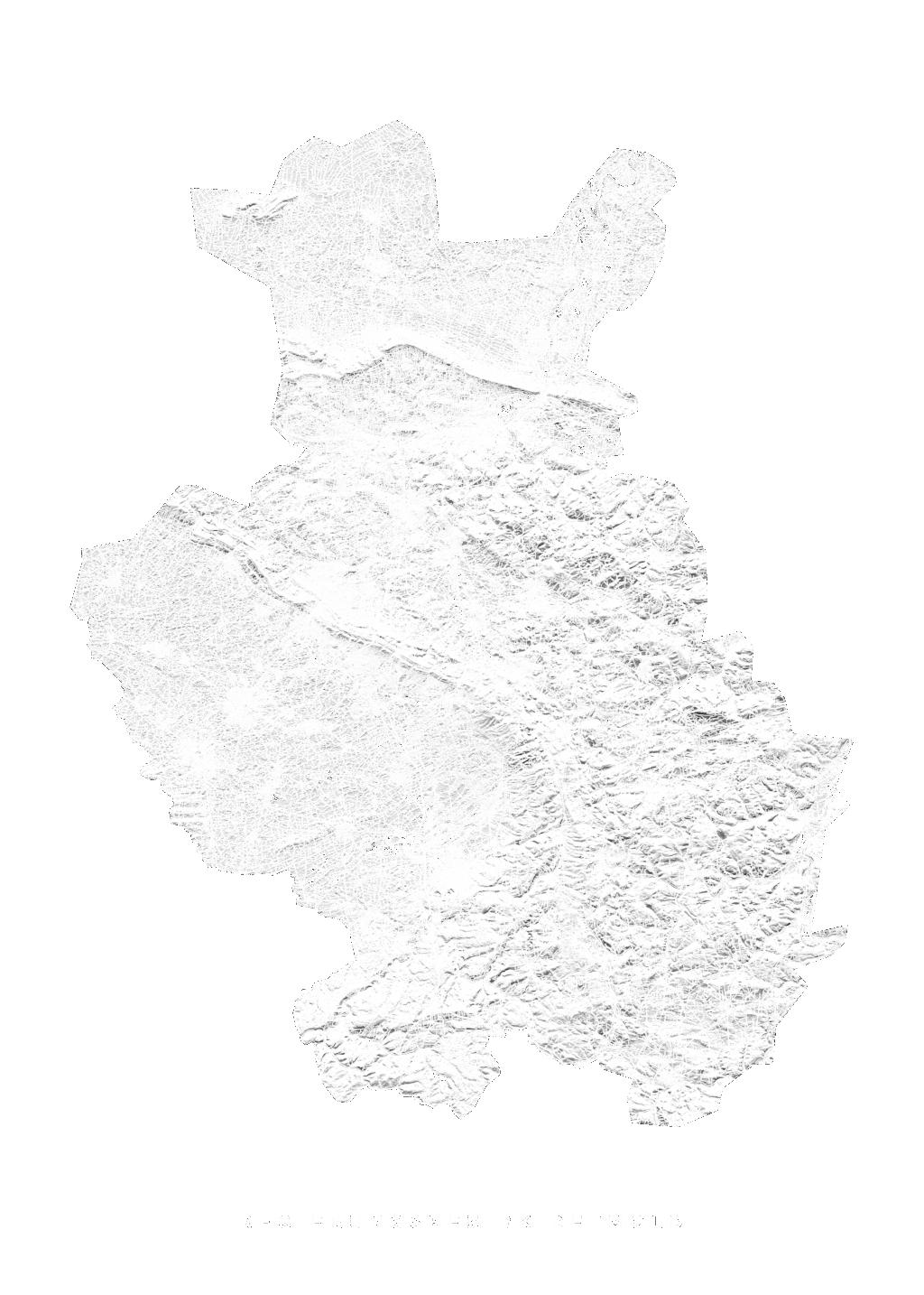 Regierungsbezirk Detmold wall map
