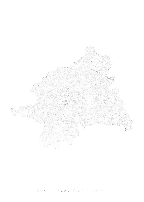 Regierungsbezirk MÜnster wall map