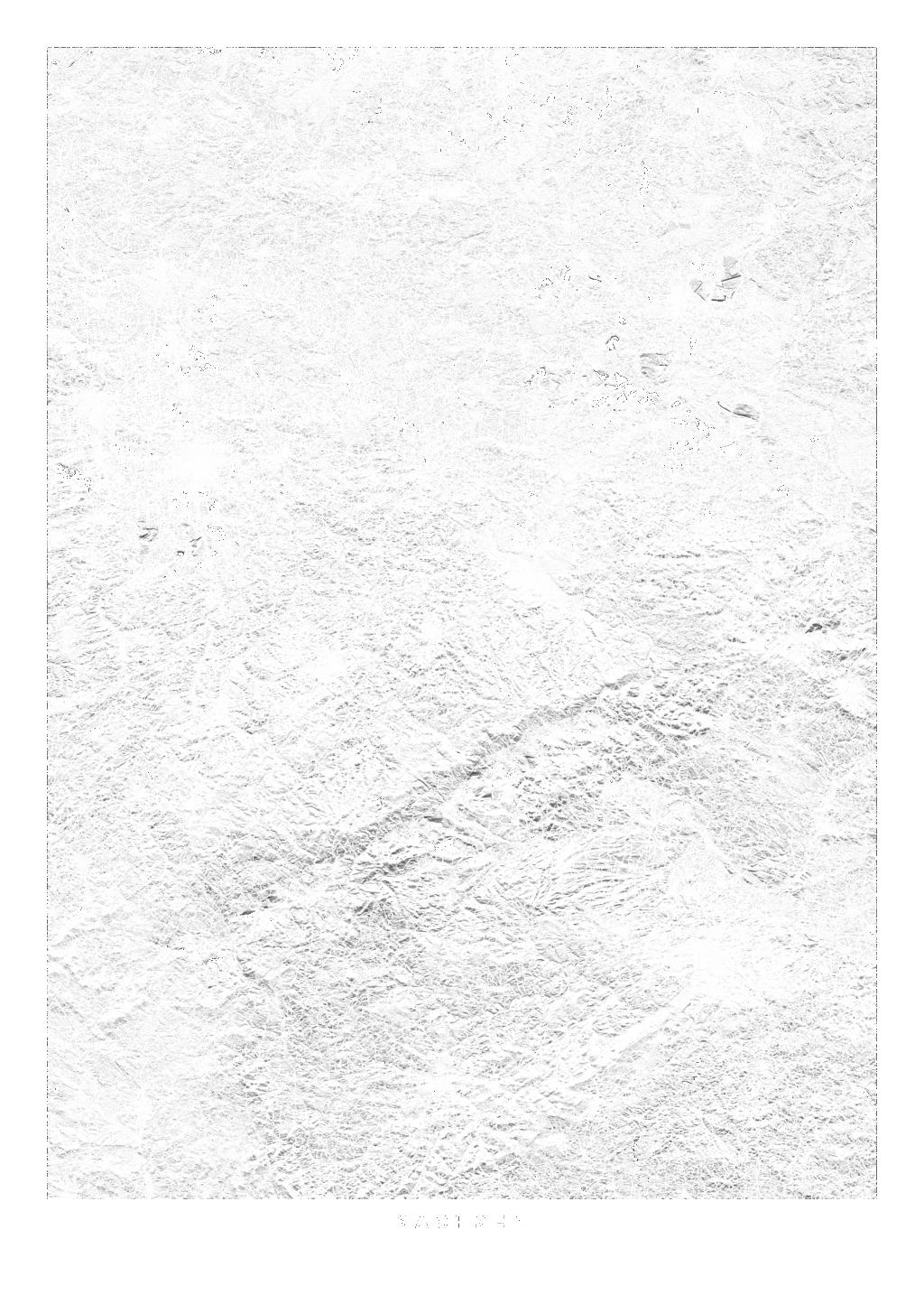 Sachsen wall map