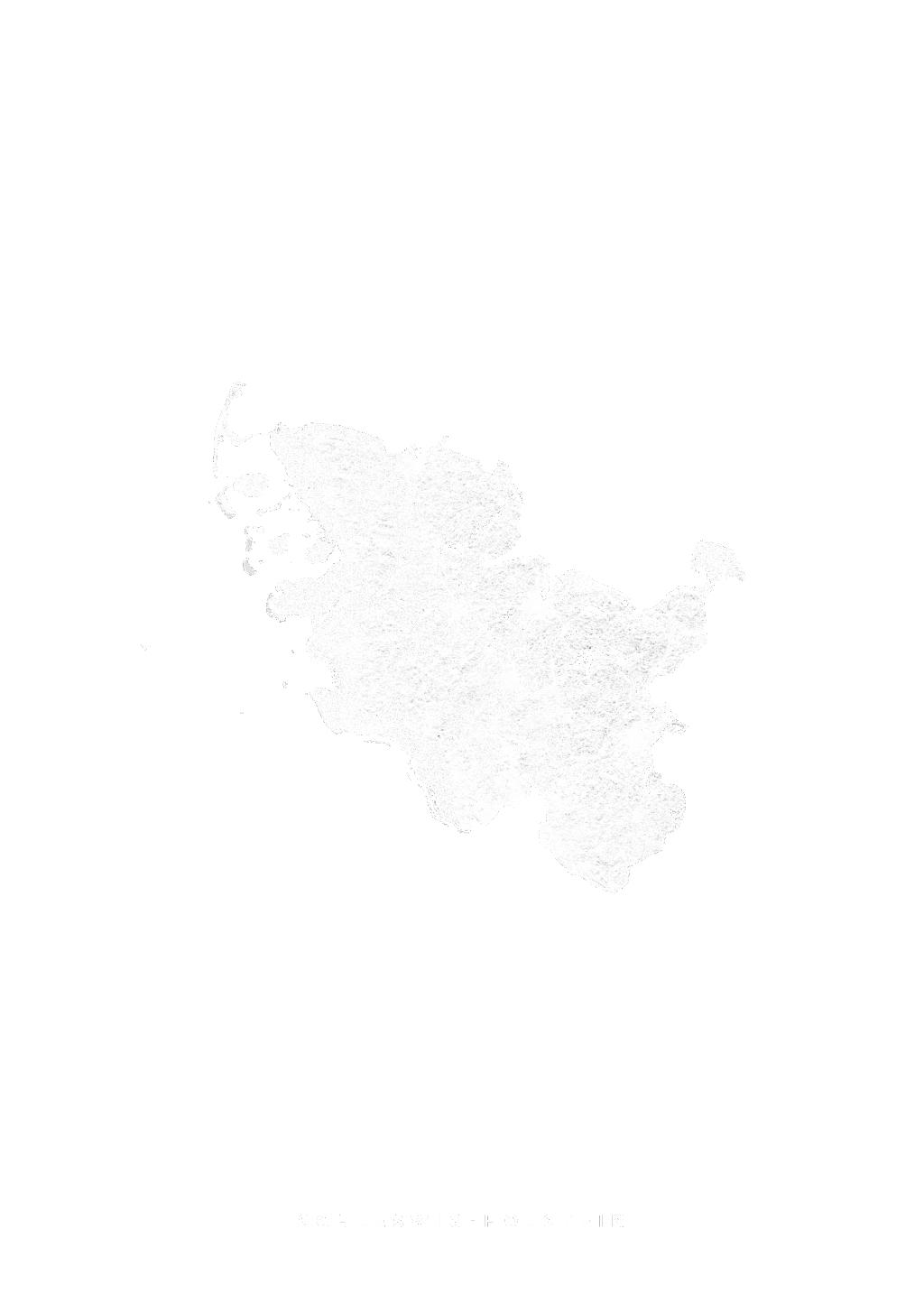 Schleswig Holstein wall map