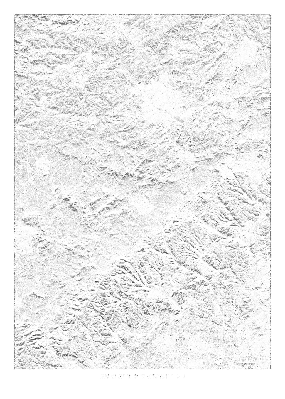 Buckinghamshire wall map