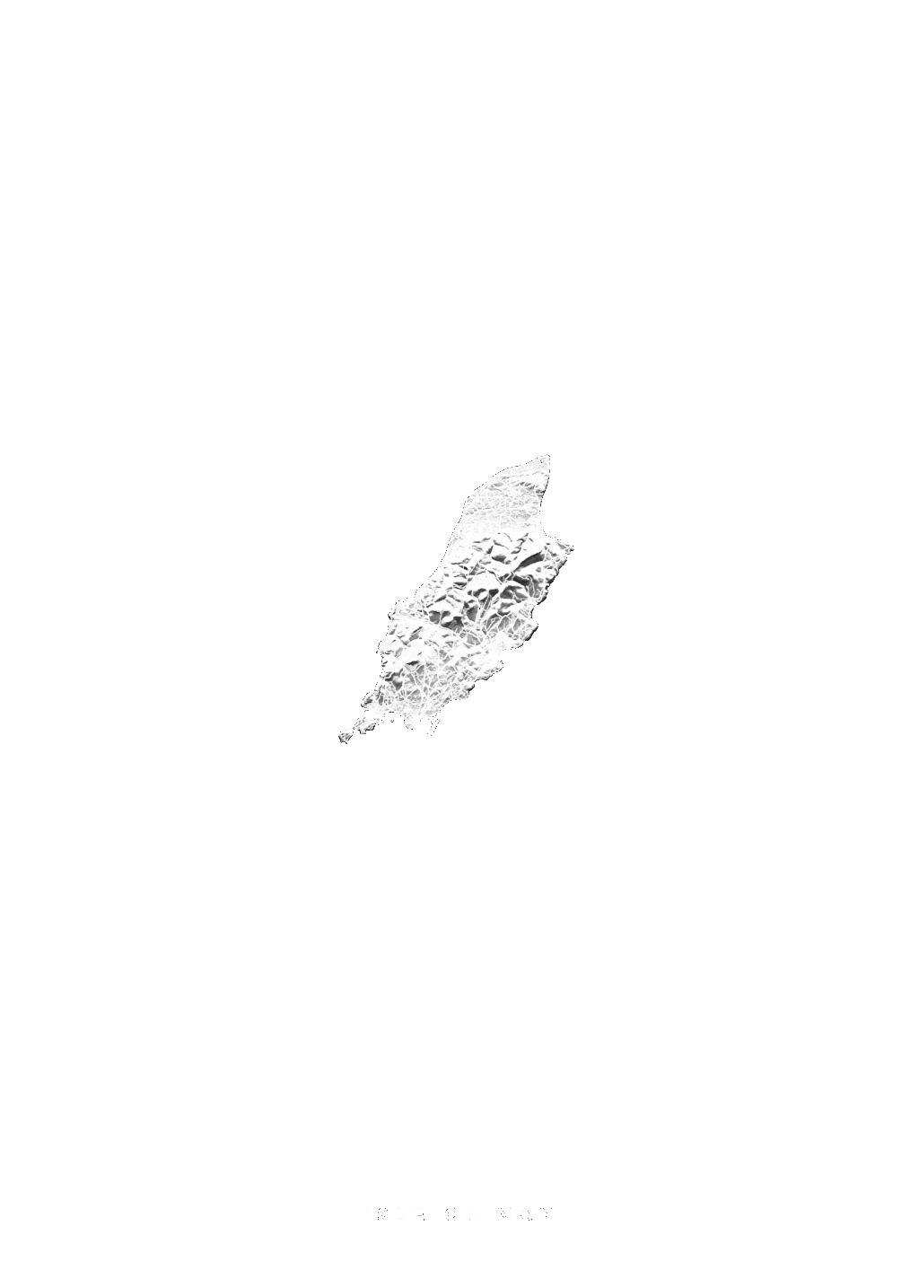 Isle Of Man wall map