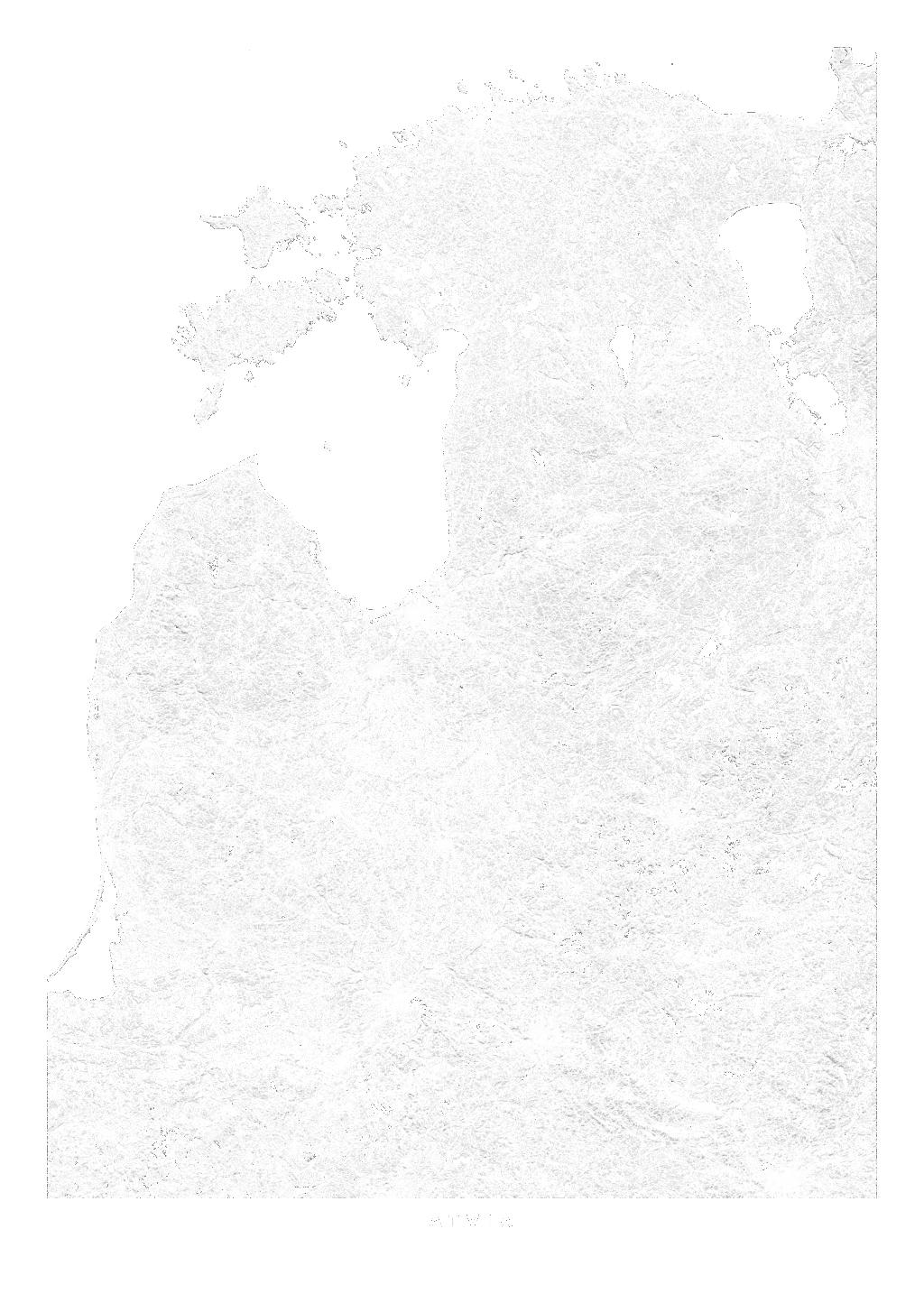 Latvia wall map