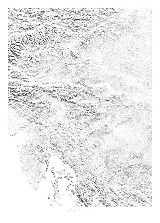 Slovenia wall map