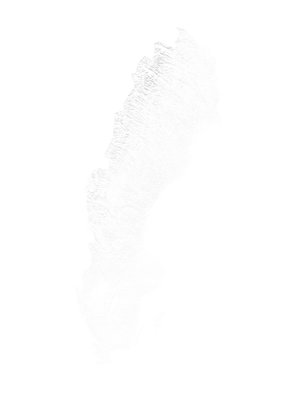 Sweden wall map