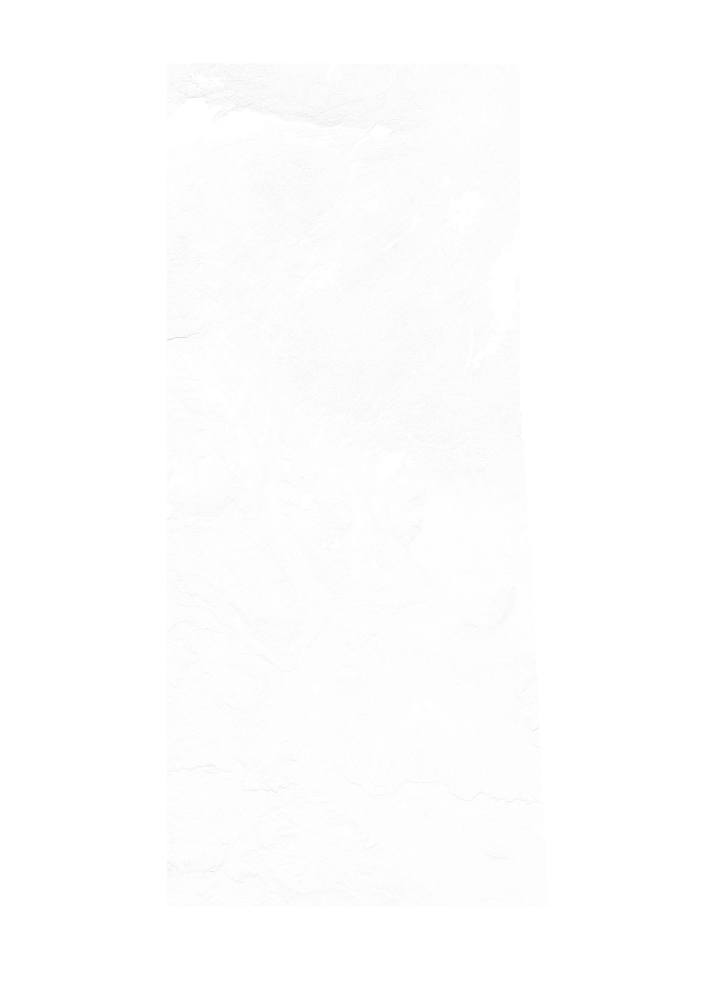 Saskatchewan wall map