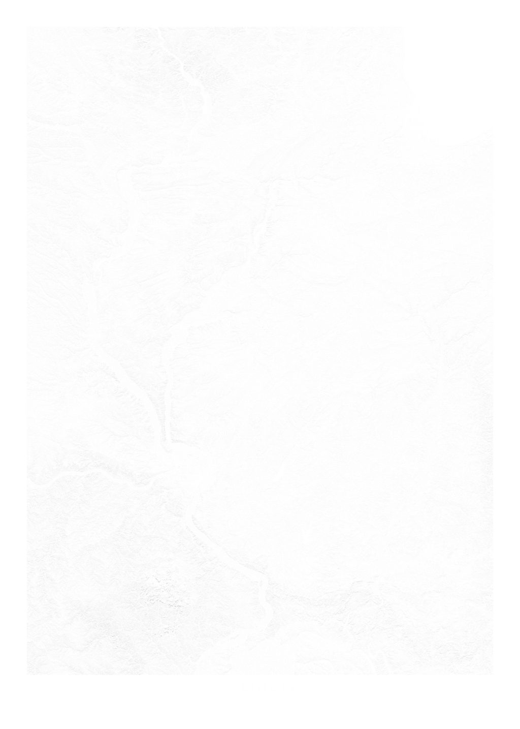 Illinois wall map