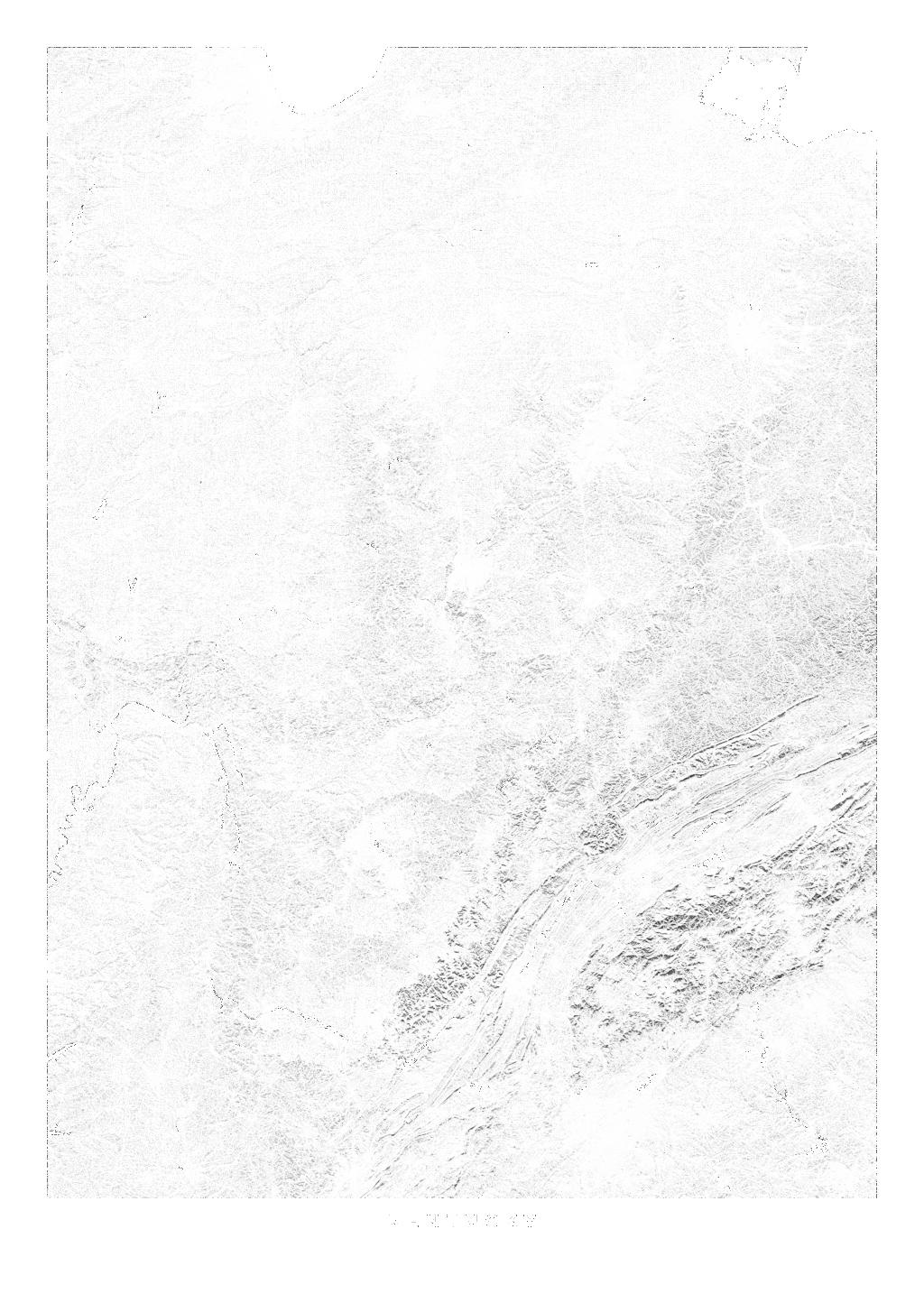 Kentucky wall map