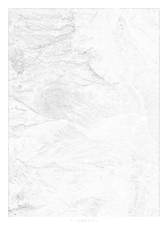 Nebraska wall map
