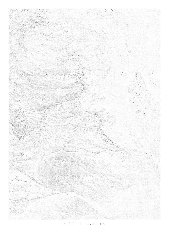 South Dakota wall map