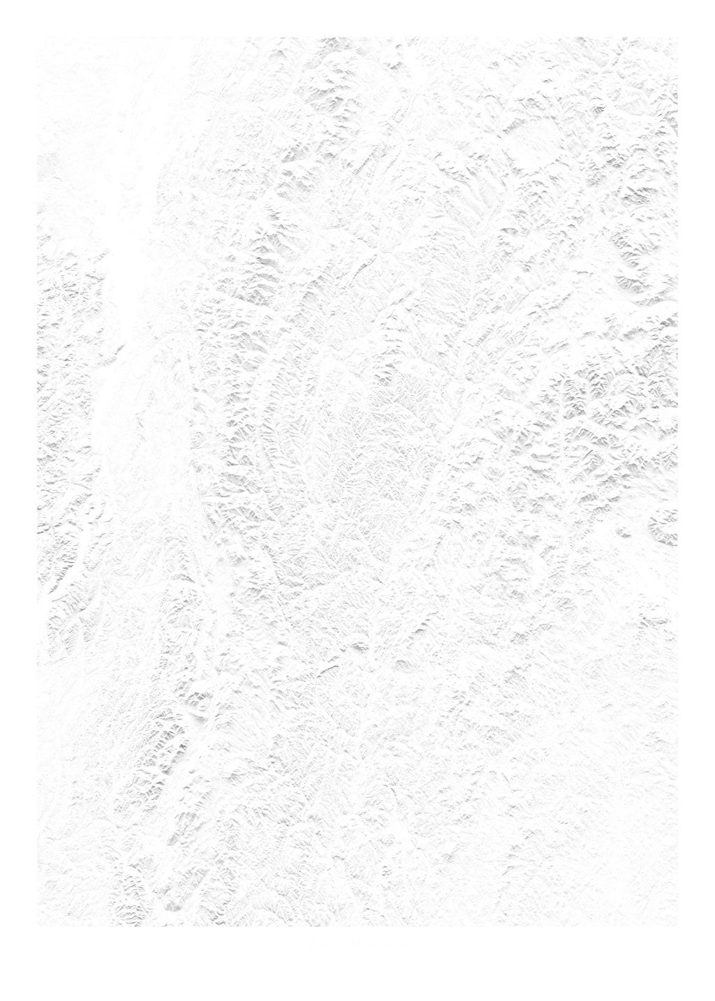Vermont wall map